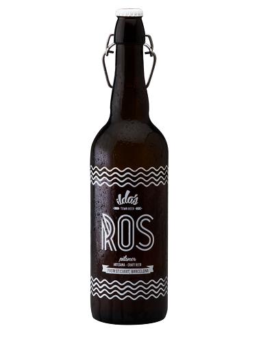 ROS - Pilsner de Ilda's - botella de 75 cl