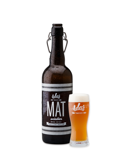 MAT - Weissbier de Ilda's - botella de 75cl